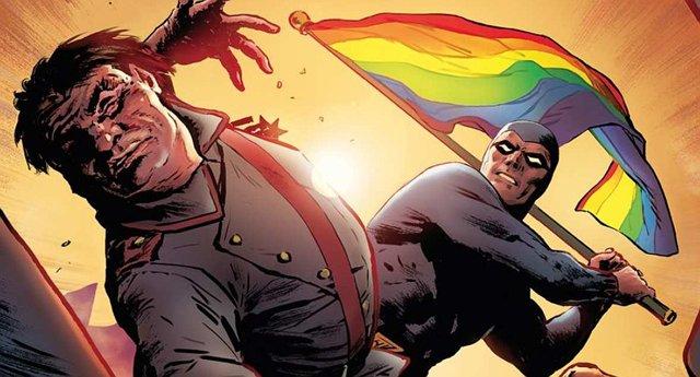 Homofobiklerle, Gökkuşağı Bayrağı Kullanarak Savaşan Kahramanın Çizgi Romanları Polonya'yı Salladı!