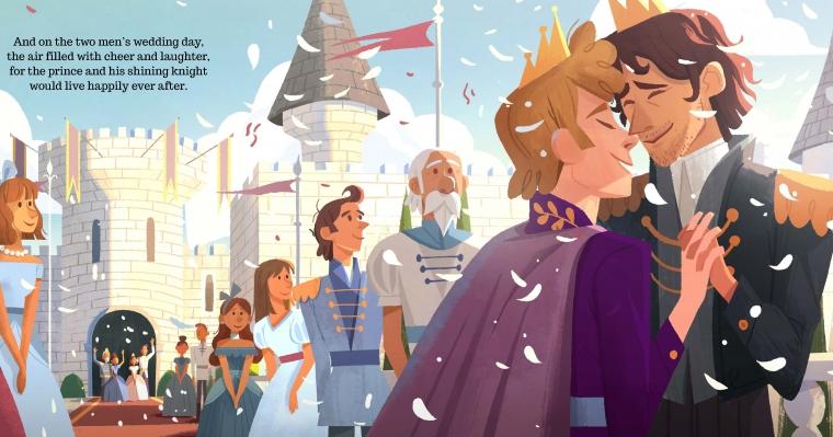 Yeni Çocuk Kitabı 'Prens ve Şövalye' Tam Kraliyet Düğünü Sırasında Geldi
