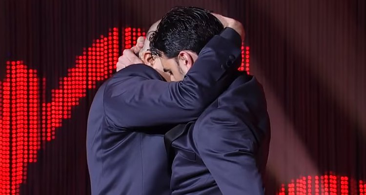 İzleyin: Eşcinsel Çift İtalyan 'Strictly Come Dancing'in Finaline Uçtu!
