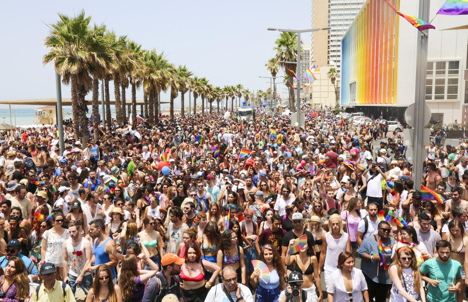 Ortadoğu'nun En Büyük Onur Yürüyüşü Tel Aviv'de Gerçekleşti!