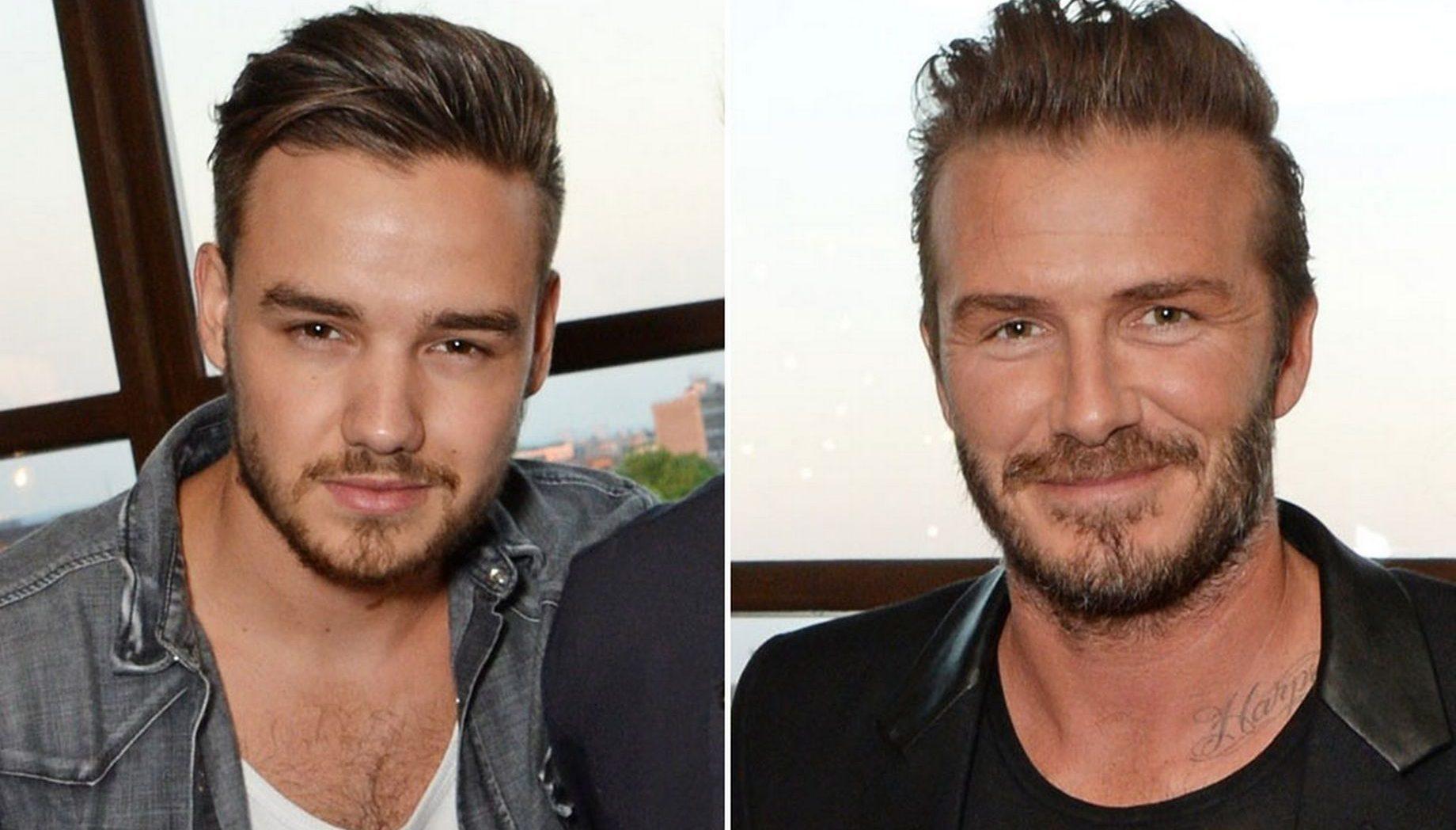David Beckham ve Liam Payne, Gazetede Onur Mesajları Verdi!