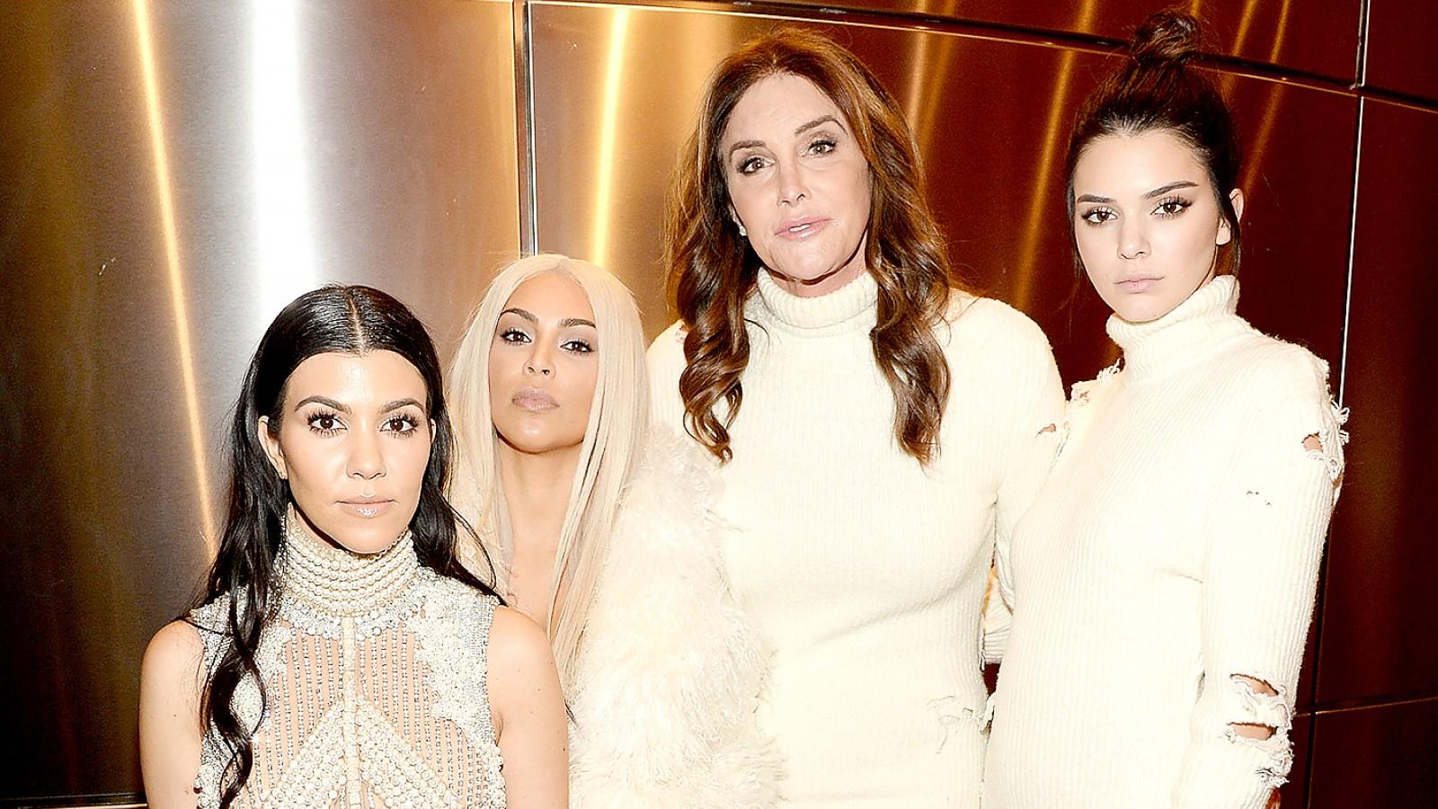 Kendall ve Kylie Jenner, Caitlyn Jenner'ın Babalar Günü'nü Kutladı