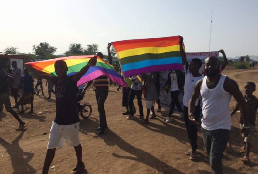 Kenya'daki Mülteci Kampında Onur Yürüyüşü
