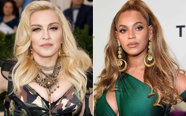 Madonna'dan Beyonce'ye Mesaj: Popun Kraliçesi Benim!