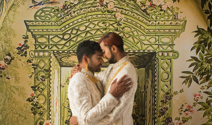 Göz Kamaştıran Eşcinsel Fotoğraf Çekimi Güney Asya'da Düğüne Özendiriyor