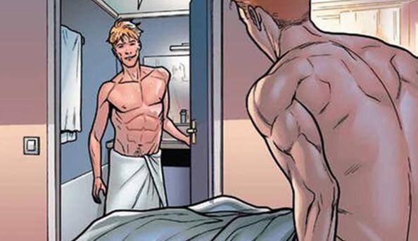 Iceman, Çizgi Romandaki İlk Tek Gecelik Eşcinsel İlişkisinin Tadını Çıkarıyor!