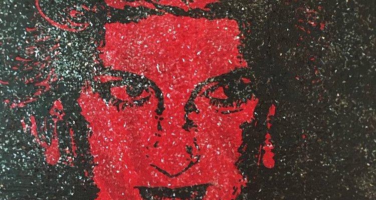 Bir Sanatçı; HIV Pozitif Kanı ve Elmas Tozu Kullanarak, Prenses Diana'nın Nefes Kesici Bir Portresini Yaptı