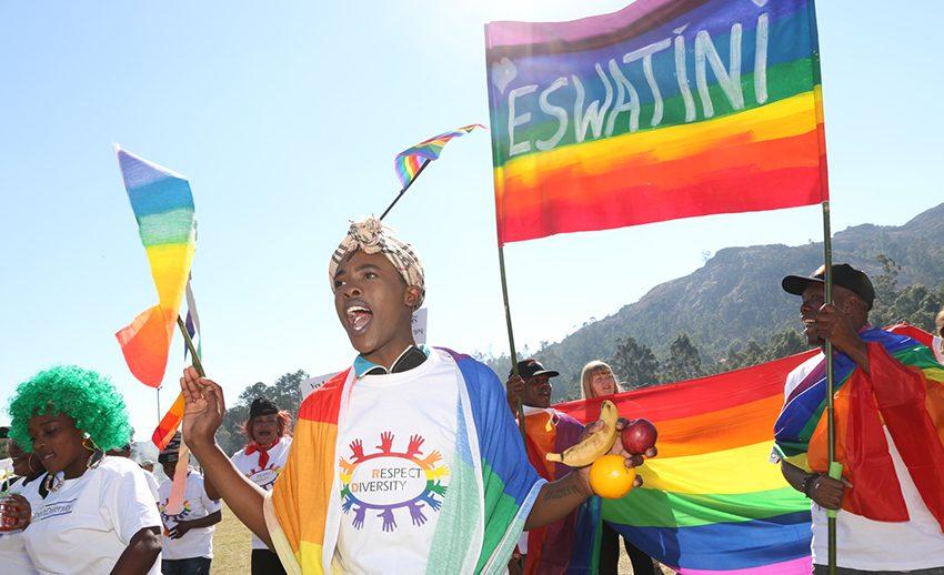 Eşcinselliğin Yasadışı Olduğu Svaziland'daki İlk Onur Yürüyüşü Harika Geçti!