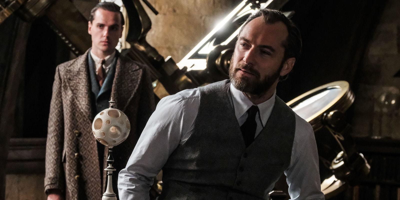 Jude Law, Dumbledore'ın Cinselliğinin Ekrana Yansımamasının Sebebini Açıkladı
