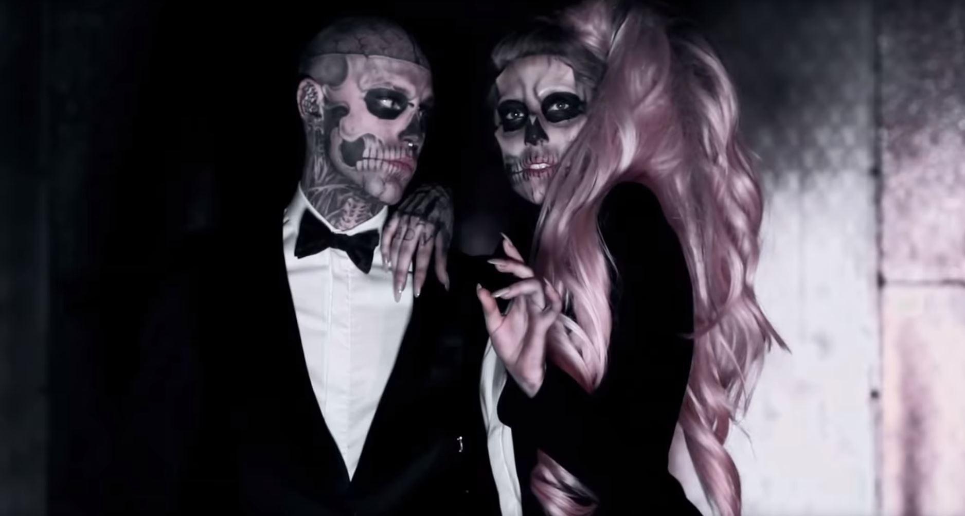 'Zombie Çocuk' Rick Genest 32 Yaşında Öldü Lady Gaga Yıkıldı