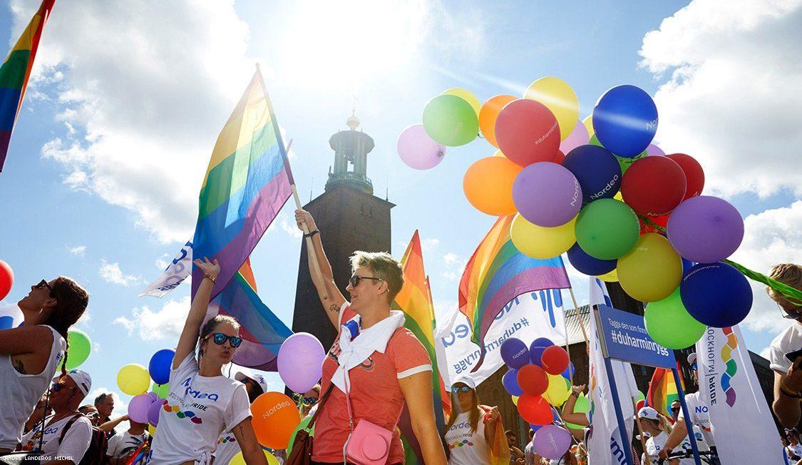 EuroPride Stockholm'dan Harika Görüntüler