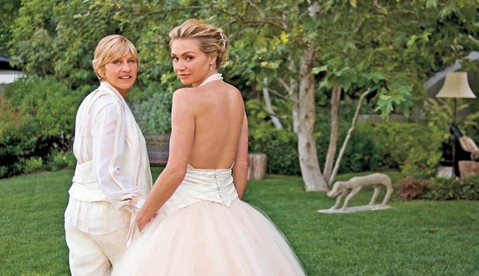 İzleyin: Ellen DeGeneres ve Portia Evliliklerinin 10. Yılını Kutluyor