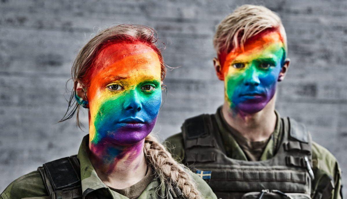 İsveç Ordusu Euro Pride'ı Kutluyor
