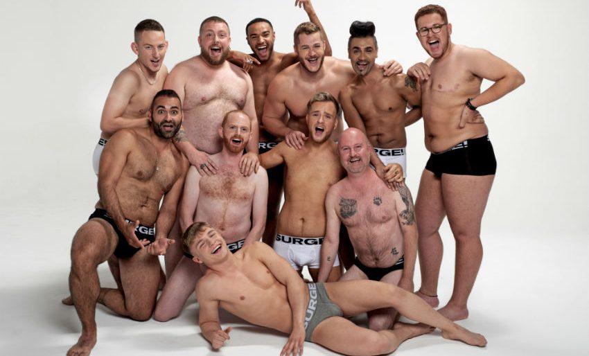 İç Çamaşırı Firması, Yeni Kampanyası için Her Vücut Tipinden Erkeklerle Çalıştı