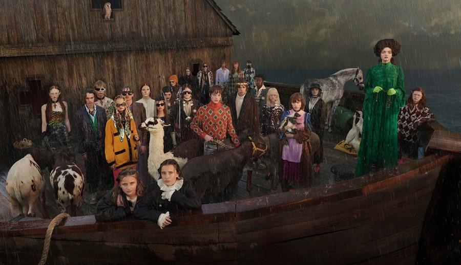 Gucci, Yeni Kampanyası İçin Nuh'un Gemisini Yeniden İnşa Etti!