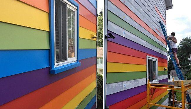 Lezbiyen Çift Homofobik Komşularını Delirtmek İçin Bakın Ne Yaptı!