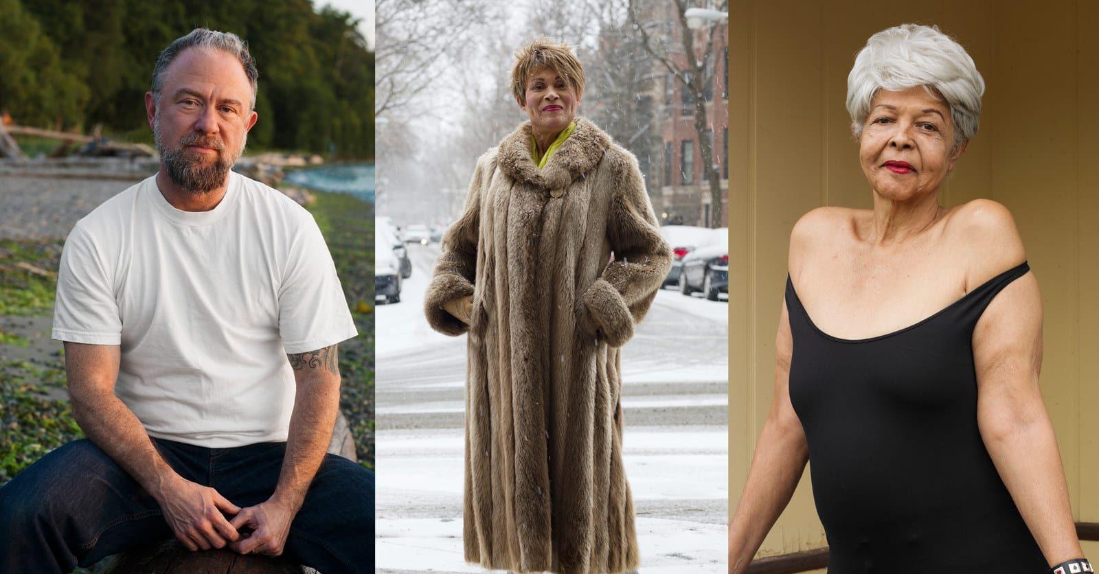 Trans ve Kuir Yaşlıları Anlatan Muhteşem Portre Serisi