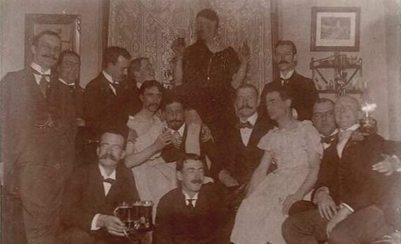 1900'lerden Bir Gay Partisi