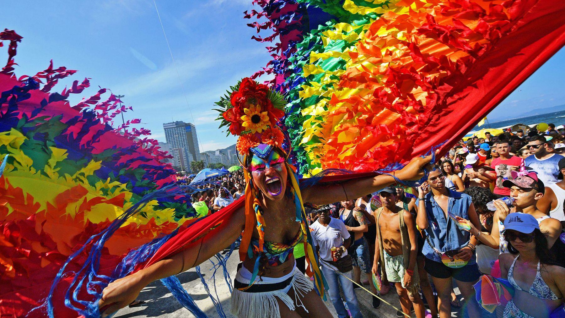 Yılın En Güzel Etkinliği Rio Pride'dan Muhteşem Fotoğraflar