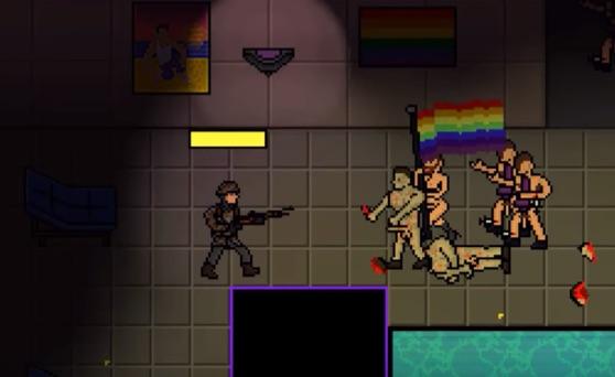 REZALET! Bu Bilgisayar Oyununda Gece Kulübünde LGBT'ler Öldürülüyor!