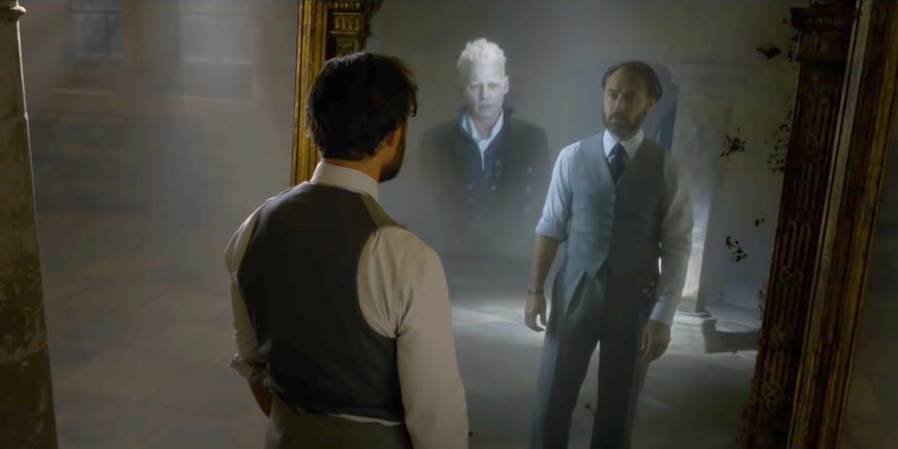 Fantastic Beasts: Dumbledore ve Grindelwald Aşkı Göründü