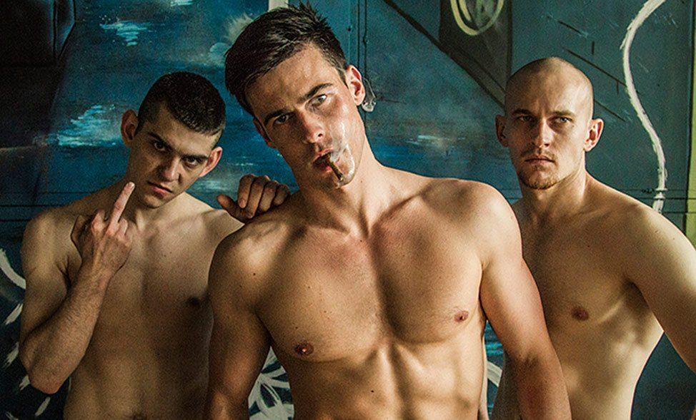 Homoerotik Rus İşi Dövüş Kulübü