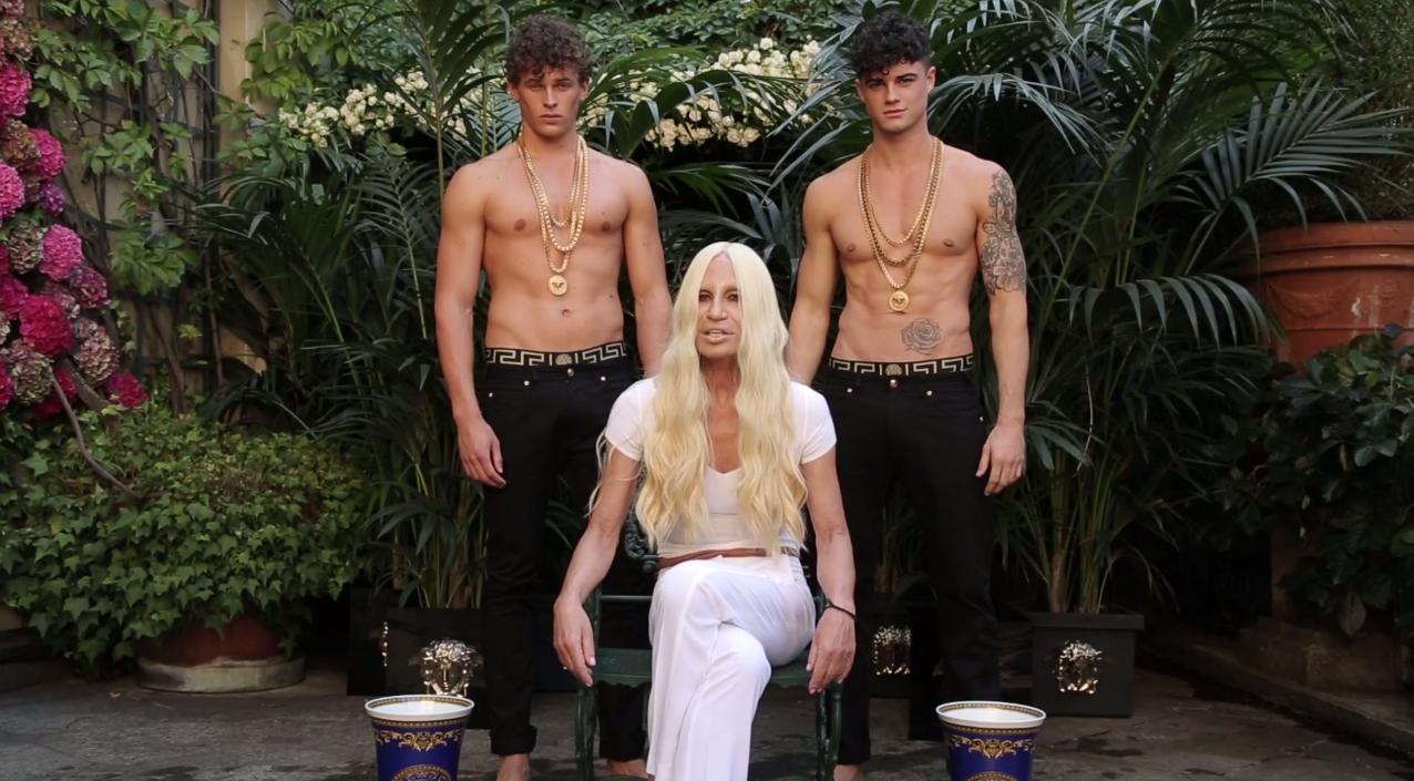 Donatella Versace: Versace Erkeği Cinsiyetsiz
