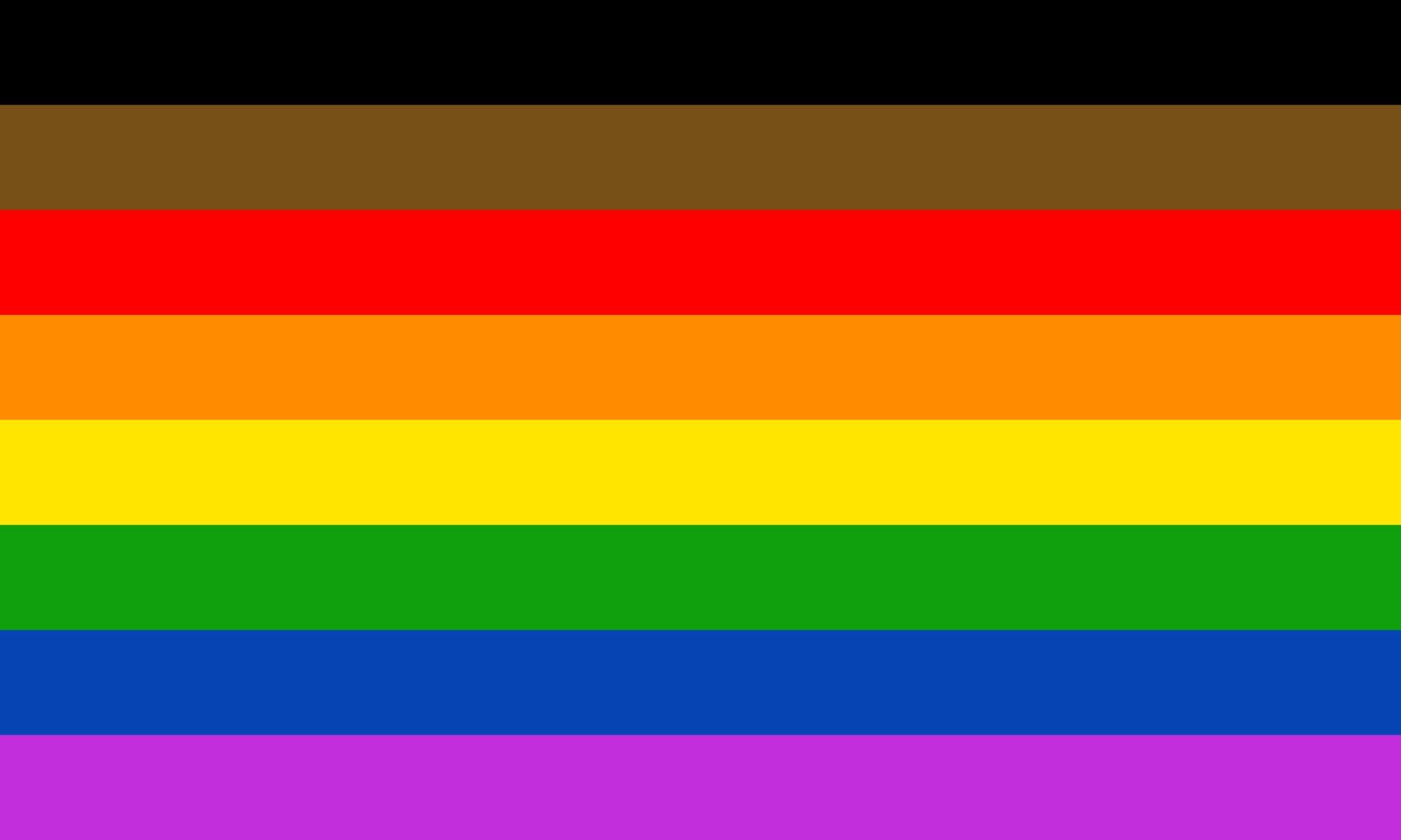 Manchester Pride, Sekiz Şeritli Yeni LGBT Bayrağını Kullanacağını Duyurdu!