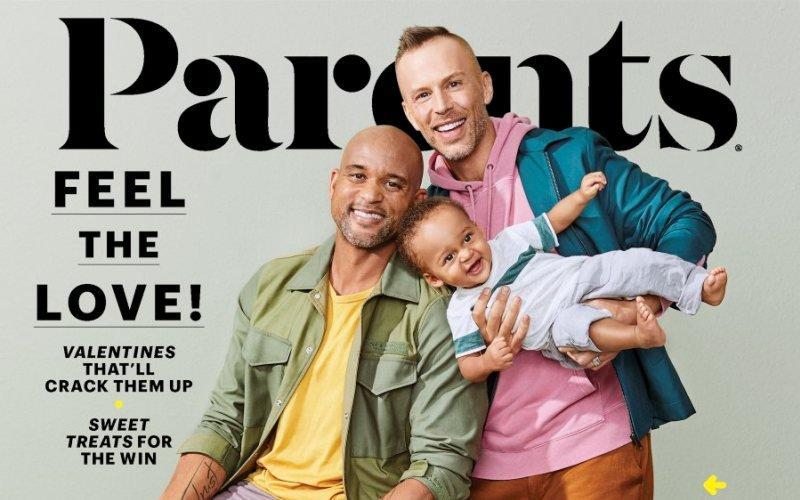 100 Yıldır Varolan Ünlü Aile Dergisinin Kapağında Yer Alan İlk Gay Çift Tarih Yazdı!