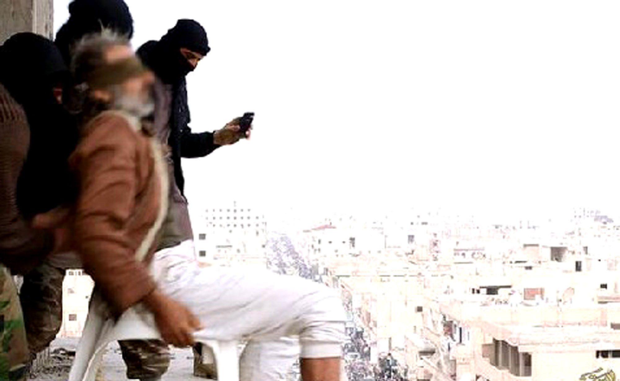 Irak Hükümeti, IŞİD'in Eşcinsel Erkekleri İnfaz Ettiği Binayı Yıkıyor!