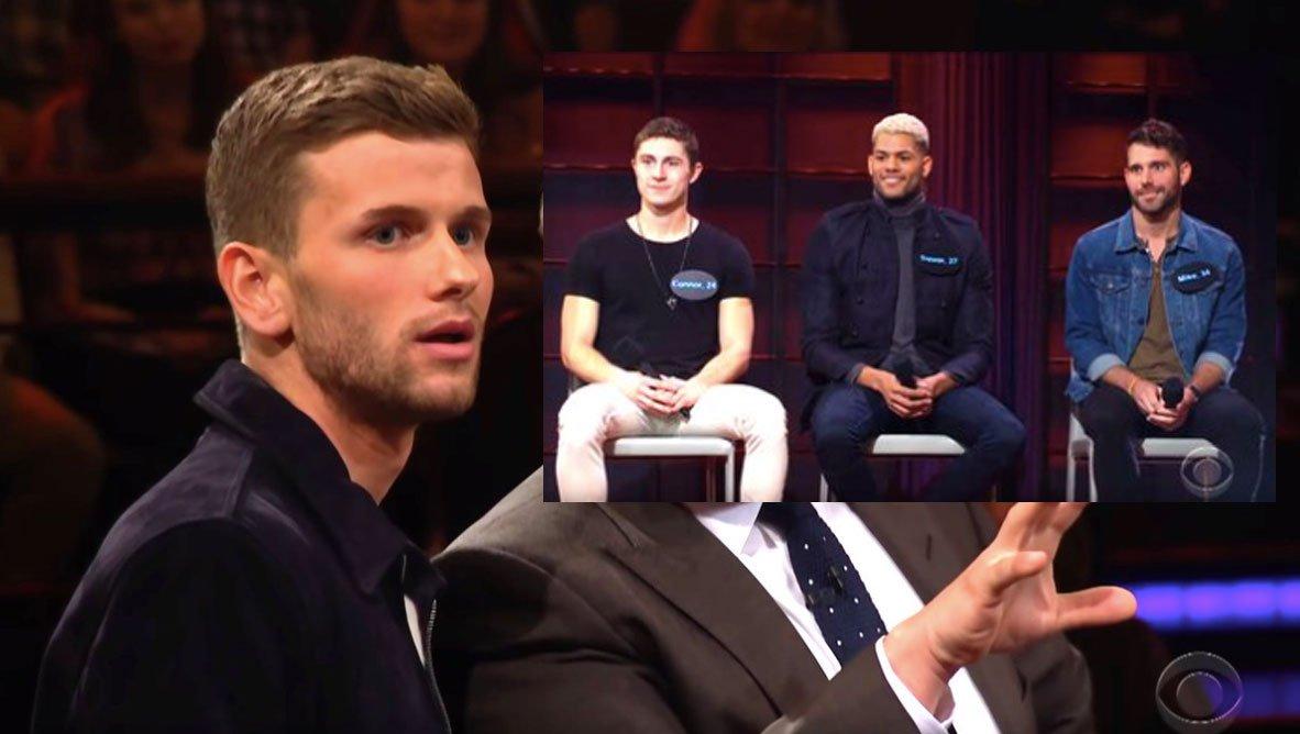 İzleyin: Gay Futbolcu James Corden'ın Programına Katılarak Canlı Tinder Oynadı