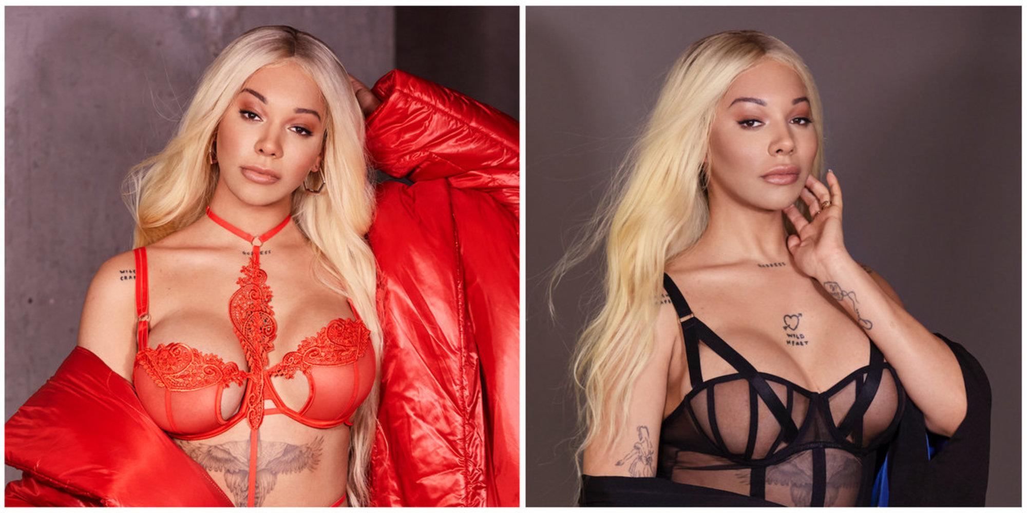 Trans Model Dünyaca Ünlü Bir İç Çamaşırı Markasının Reklam Yüzü Oldu