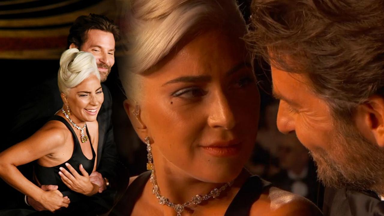 Oscar Gecesine Damga Vuran Performans! Lady Gaga Bradley Cooper'a Aşık Mı?
