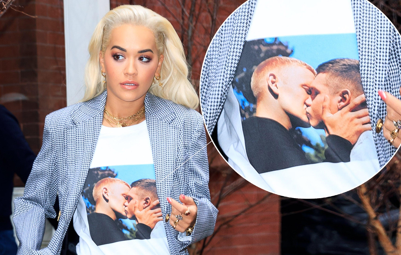 Rita Ora'dan Sevgililer Günü'ne Özel Tişört