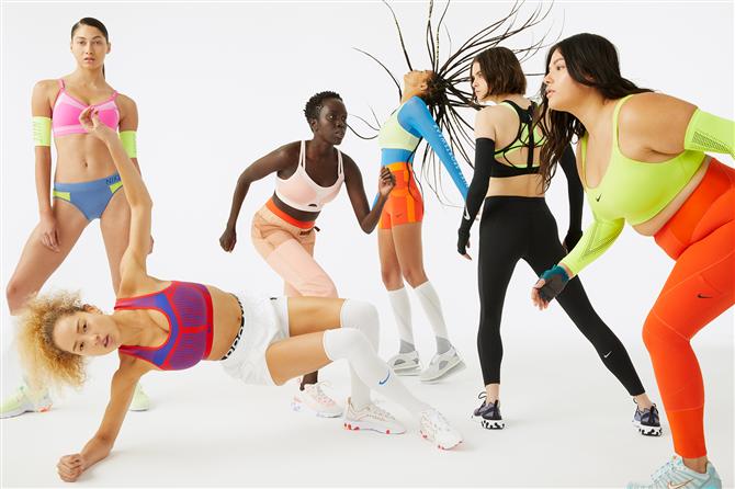Nike'tan 20 Yıl Sonra Her Farklı Vücut Tipine Özel Yeni Spor Sutyenler