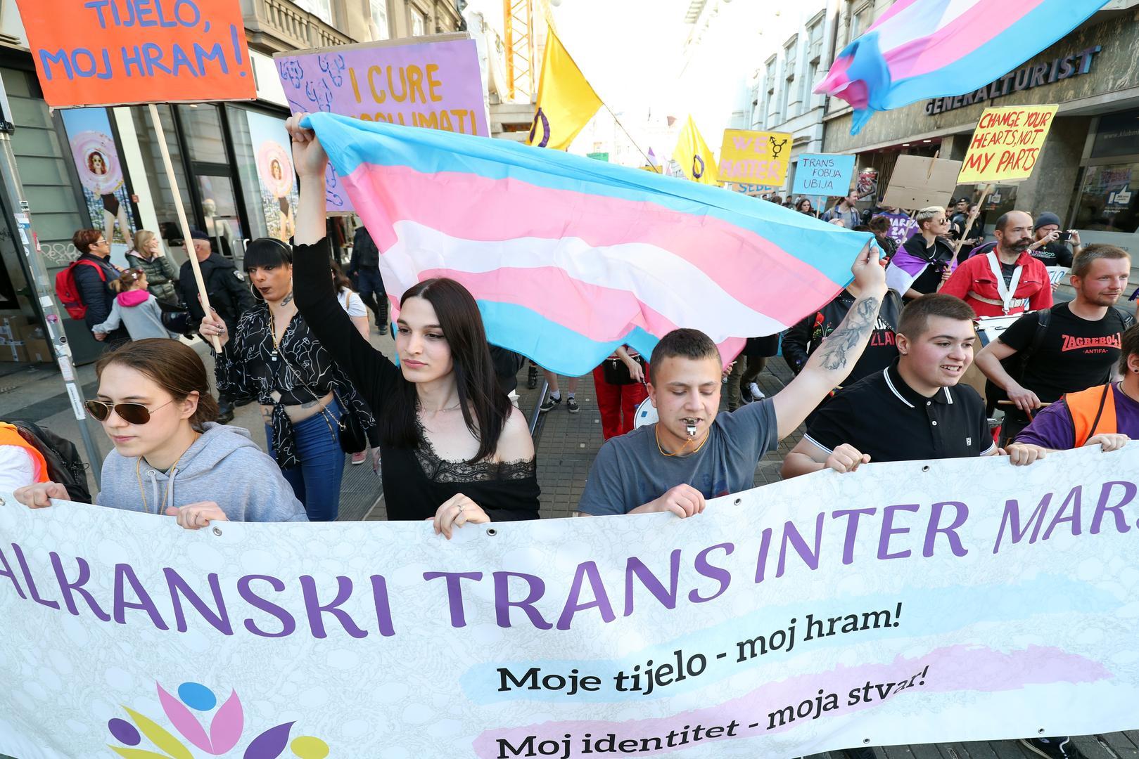'Balkan Trans Yürüyüşü'nün İlki Hırvatistan'da Gerçekleştirildi