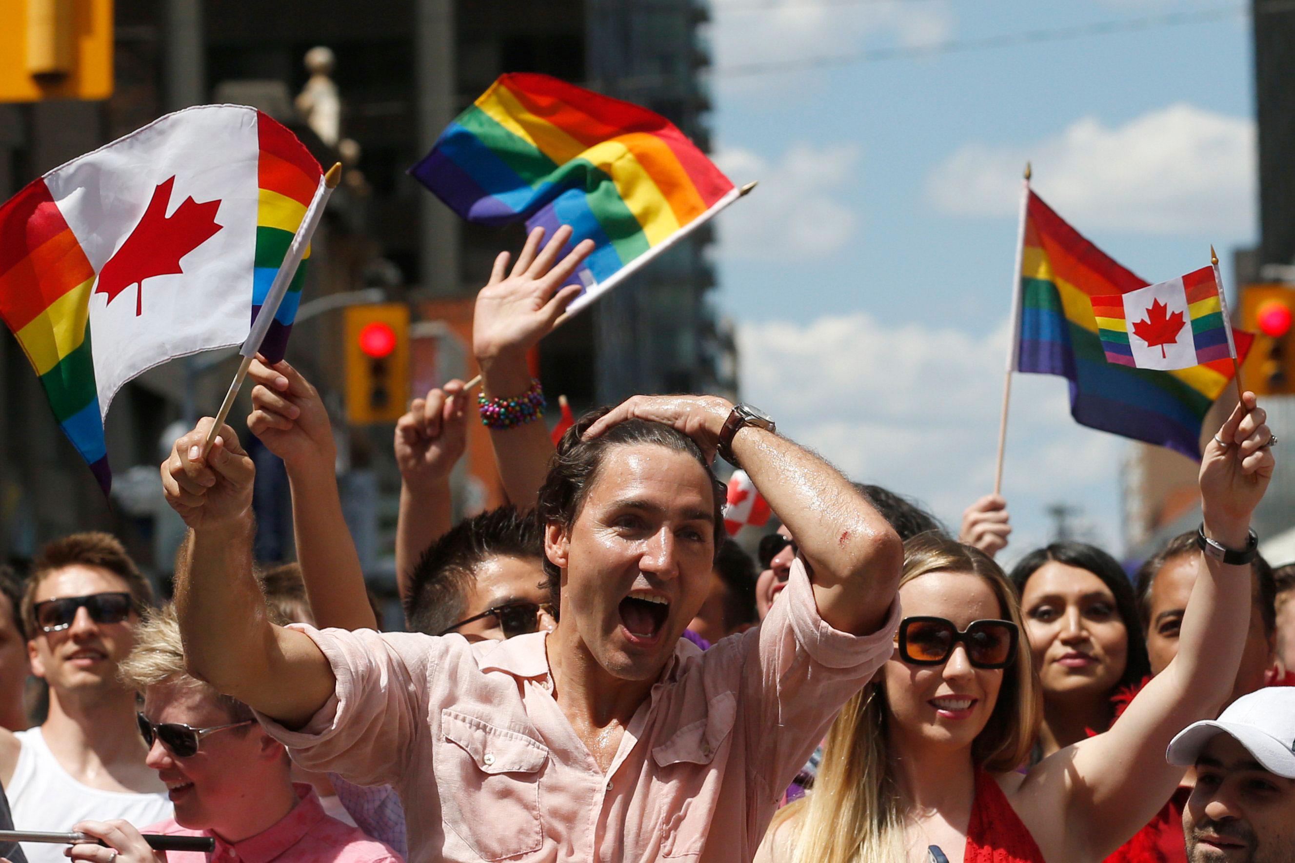 Aktivistlerden Kanada'nın LGBT Dostu Bozuk Parasına Tepki!