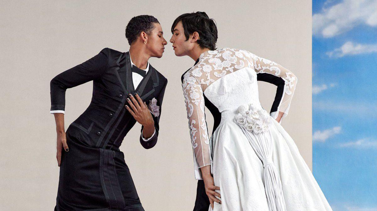 Kuir Aktörler Ezra Miller ve Keiynan Lonsdale Vogue İçin Poz Verdi