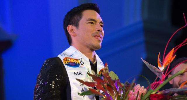 Yarışmanın Favorisi 41 Yaşındaki Janjep Carlos Mr Gay World 2019'un Kazananı Oldu!