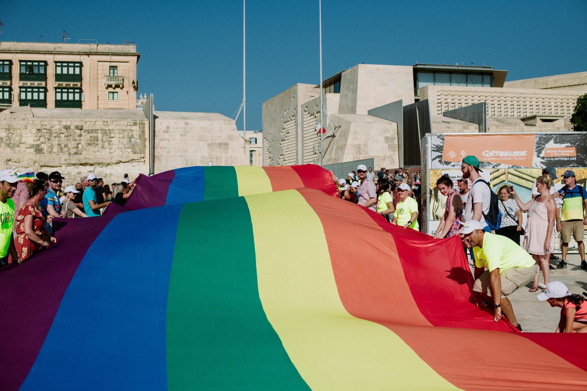 Malta Dördüncü Kez Avrupa'nın En LGBT Dostu Ülkesi Oldu!