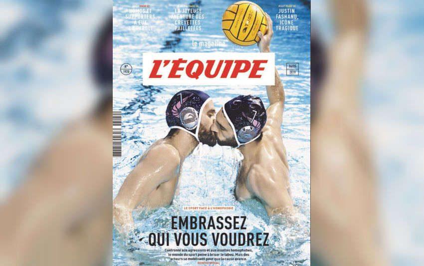Fransa'nın En Büyük Spor Dergisinden Homofobiye Cevap!