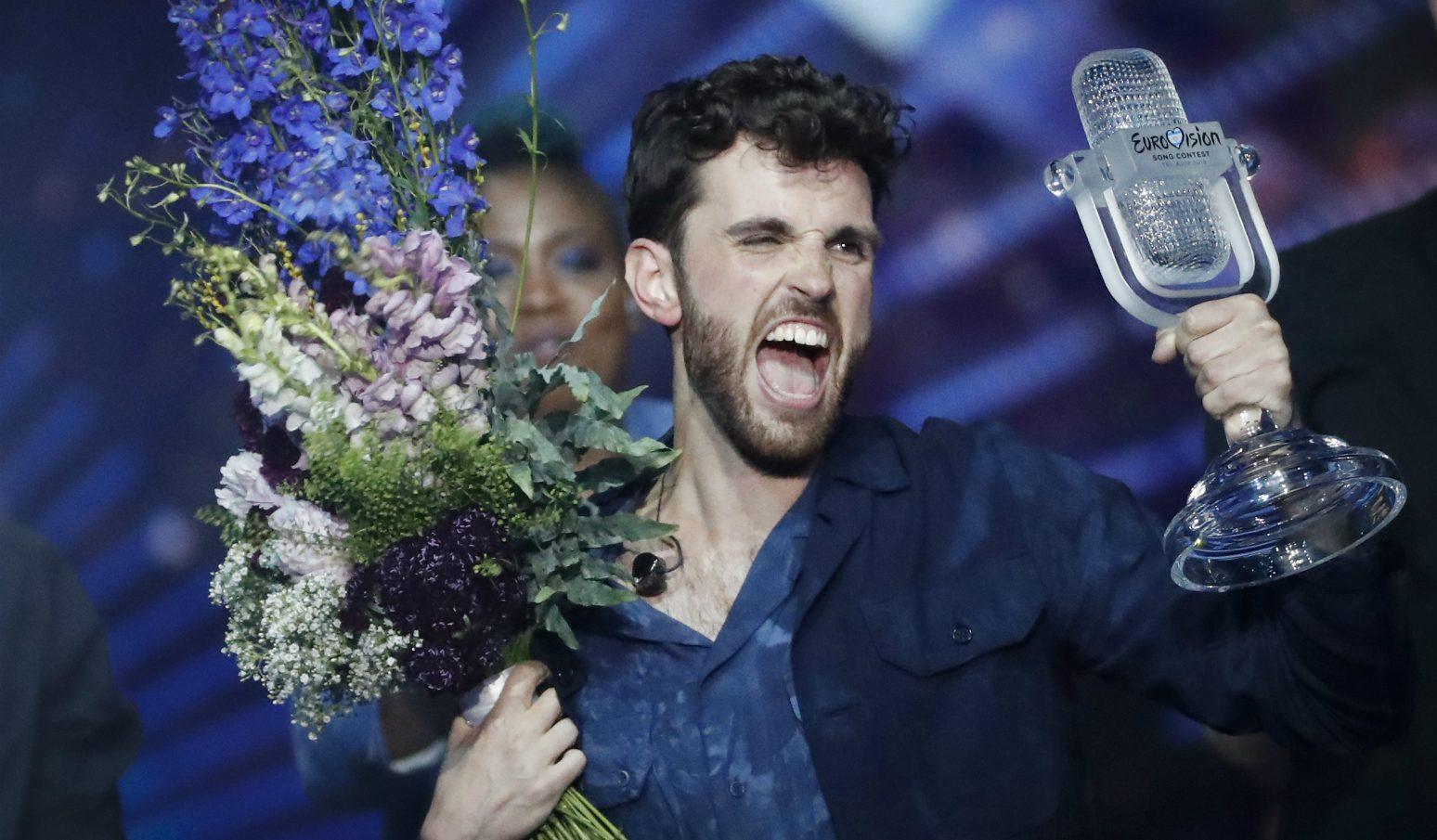 Eurovision'un Biseksüel Galibinden LGBT'ye Mesaj