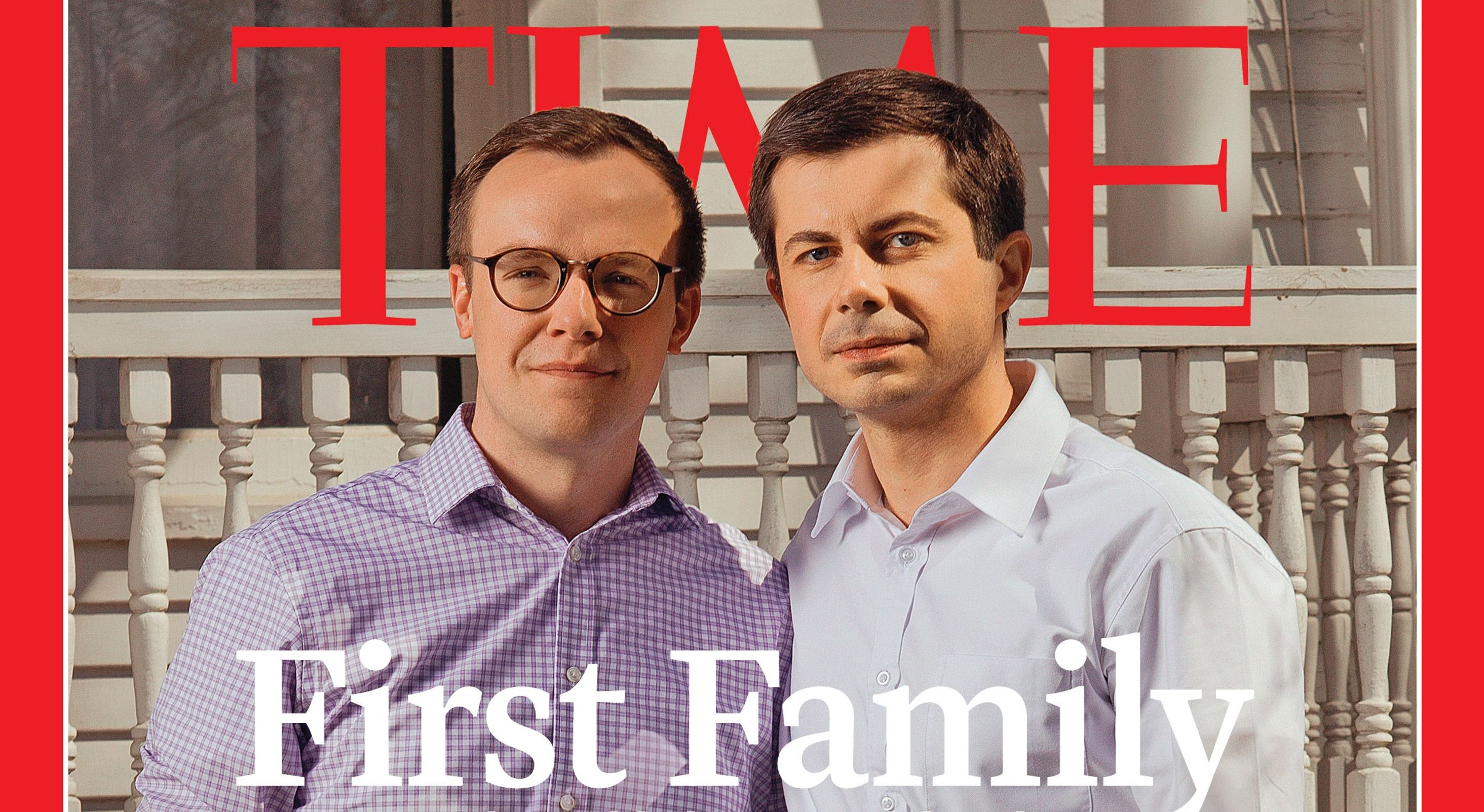 ABD'nin Gay Başkan Adayı Pete Buttigieg ve Eşi Time Dergisi'nin Kapağında Yer Aldı