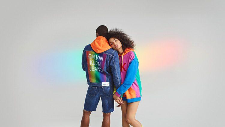 Calvin Klein'in Pride Koleksiyonu Göz Kamaştırdı!