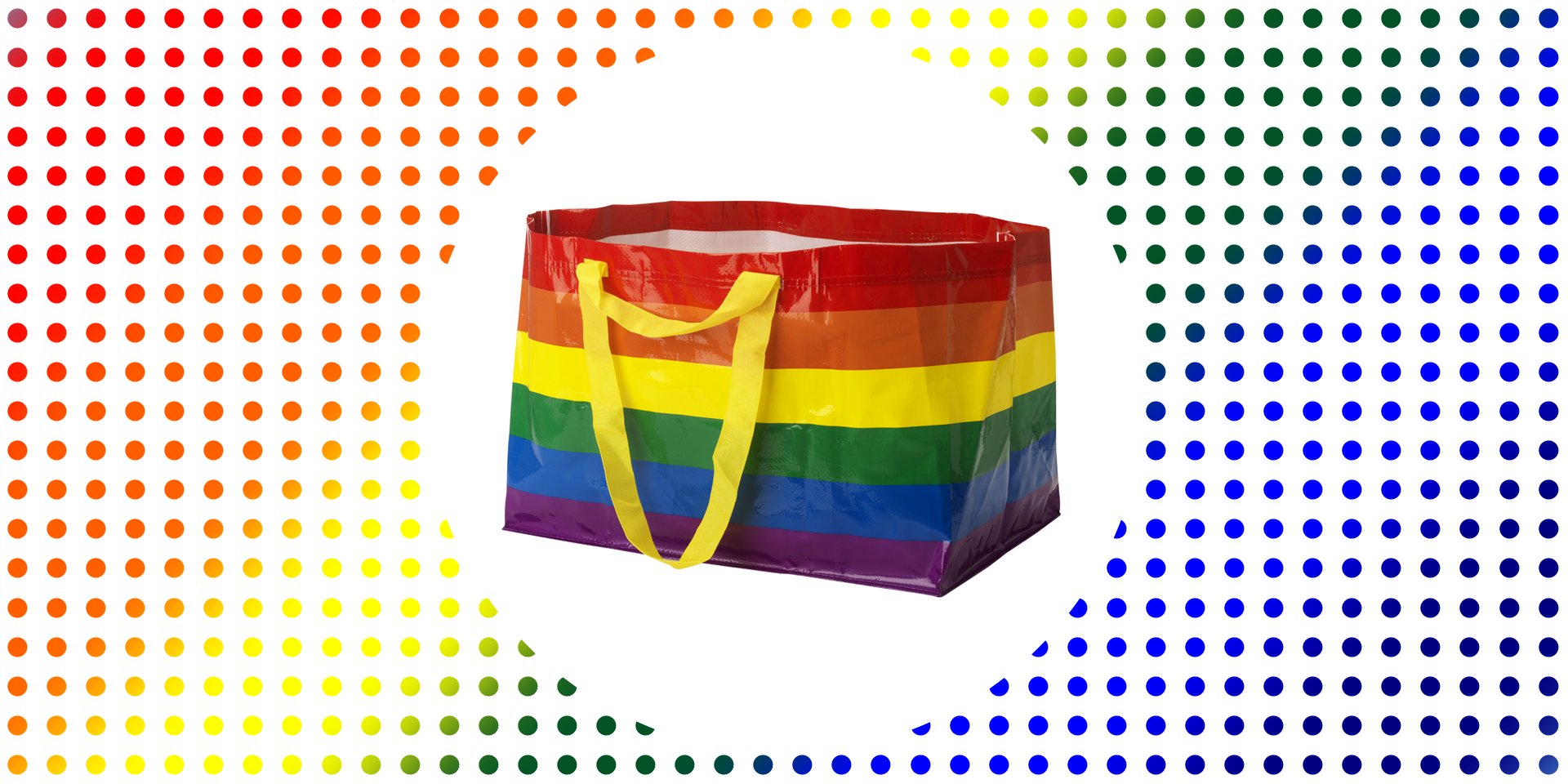 IKEA'dan Pride Ayı'na Özel Alışveriş Torbaları