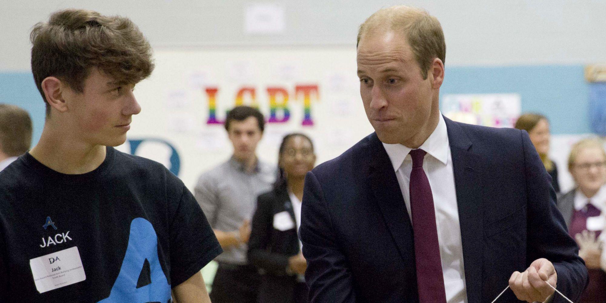 Prens William: Çocuğum LGBT Olsun Olmasın Yanında Olurum