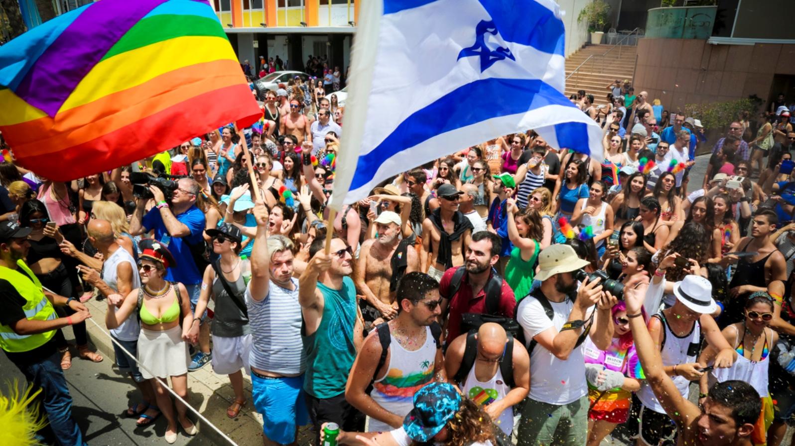 Tel Aviv Onur Yürüyüşüne 250,000 Kişi Katıldı!