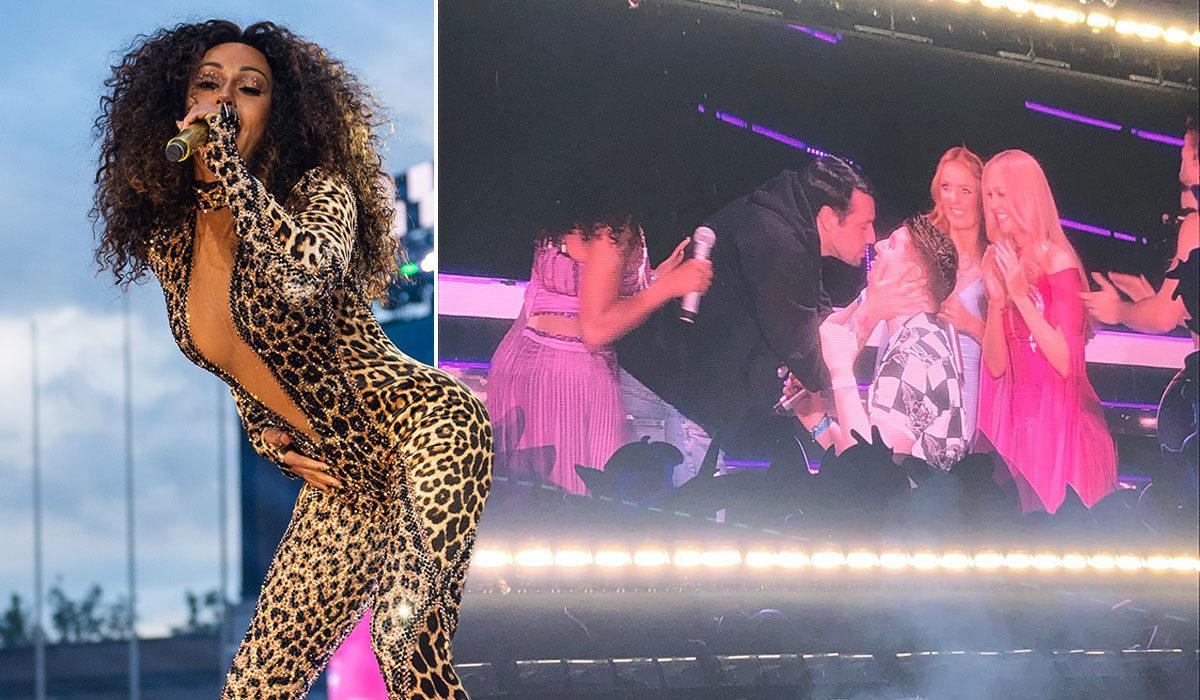 Spice Girls Konserinde Muhteşem Evlilik Teklifi
