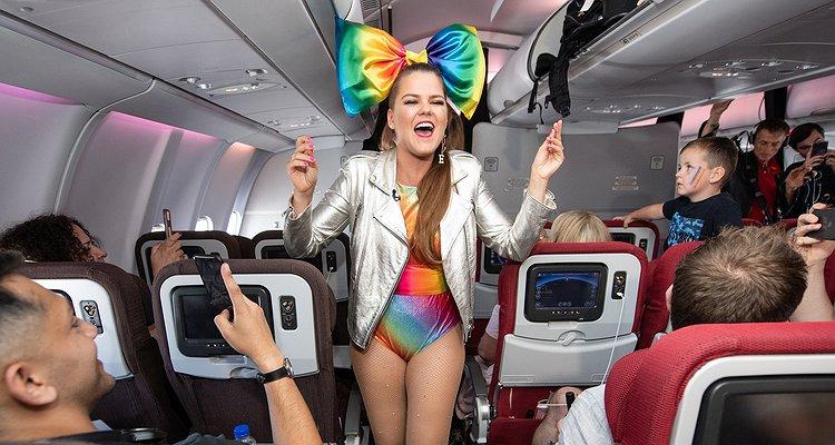 Dünyanın İlk Pride Uçuşu Gerçekleşti!