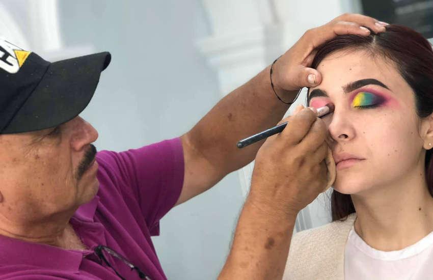 60 Yaşında Şoförlüğü Bırakıp Makyaj Sanatçısı Oldu